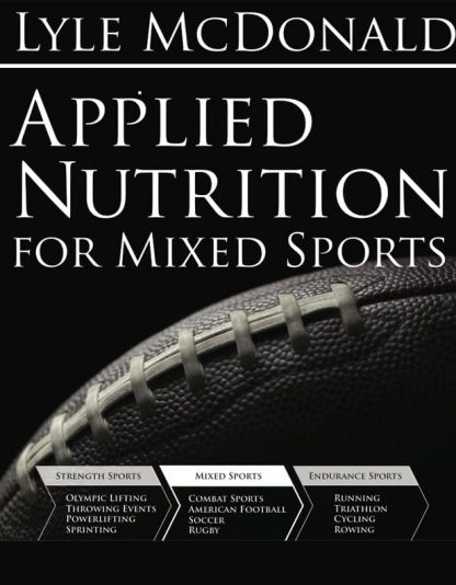 Applied Sports Nutrition Mixed Sports by Lyle McDonald Cover