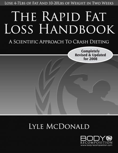 Rapid Fat Loss Handbook Cover