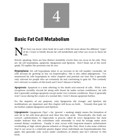 Stubborn Fat Solution by Lyle McDonald Sample Page 1