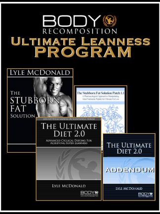 Ultimate Leanness Program by Lyle McDonald Cover
